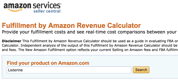 How to Use the Amazon FBA Calculator: Pick Product